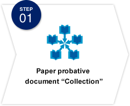"STEP01 Paper probative  document ""Collection"""